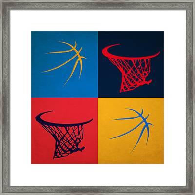 Thunder Ball And Hoop Framed Print by Joe Hamilton