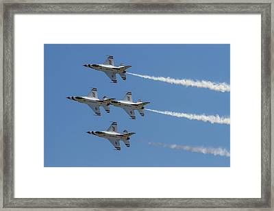 Thunderbirds II Framed Print by Bill Gallagher