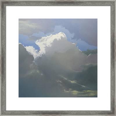 Thunderhead 2 Framed Print by Cap Pannell