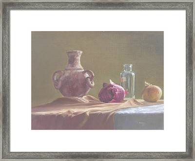 Thursday Afternoon Framed Print by Dave Holman