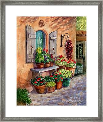 Tia Rosa's Place Framed Print by Marilyn Smith