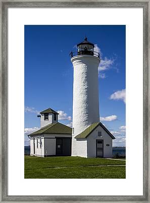 Tibbetts Point Lighthouse Framed Print by Ben and Raisa Gertsberg