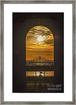 Ticket To Paradise  Framed Print by Mitch Shindelbower