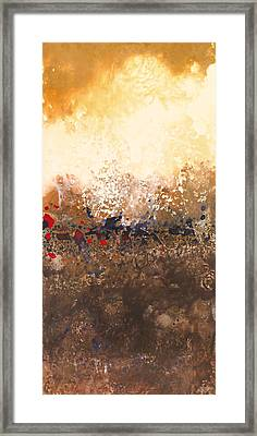 Tidal Sunrise Panel 2 Framed Print by Craig Tinder