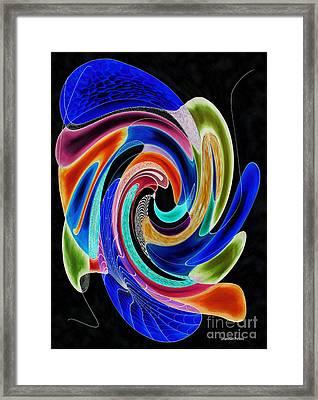 Tide Pool Framed Print by Shannan Peters