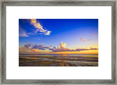 Tide Pools Framed Print by Marvin Spates