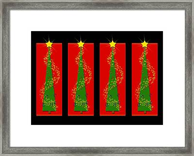 Tidings From Trees Framed Print by Lisa Knechtel