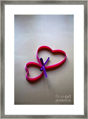 Tied To You Framed Print by Jan Bickerton