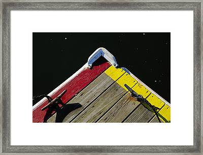 Tied-up Framed Print by Luke Moore