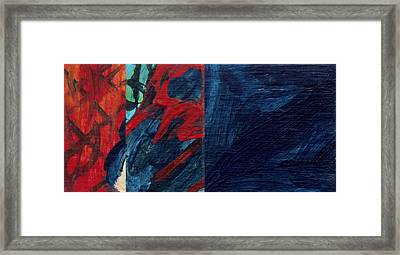 Tiempo  Framed Print by Hatin Josee