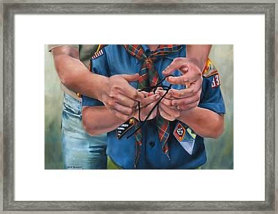 Ties That Bind Framed Print by Lori Brackett