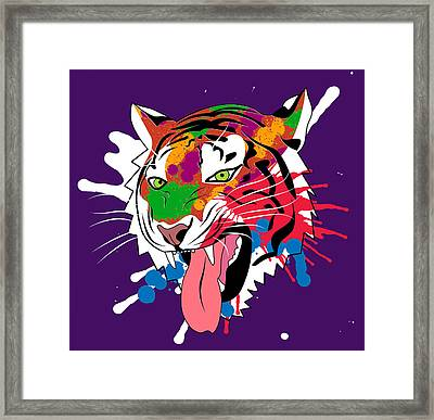 Tiger 11 Framed Print by Mark Ashkenazi