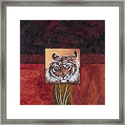 Tiger 2 Framed Print by Darice Machel McGuire
