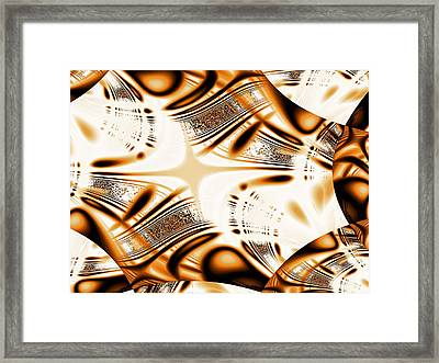 Tiger Eye Framed Print by Anastasiya Malakhova