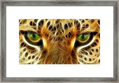 Tiger Portrait  Framed Print by Mark Ashkenazi