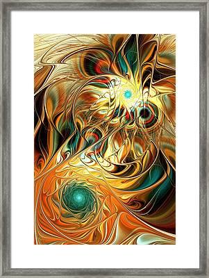 Tiger Vision Framed Print by Anastasiya Malakhova