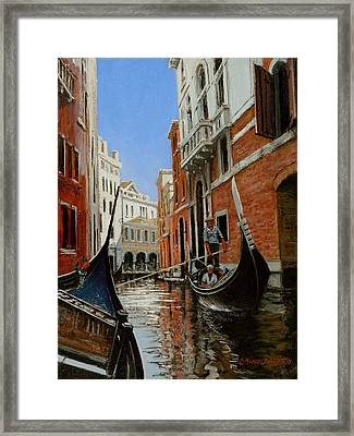 Tight Quarters Framed Print by Michael Swanson