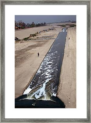 Tijuana River Framed Print by Jim West