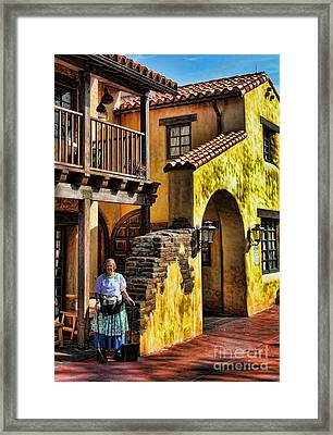 Tijuana Taco House II Framed Print by Lee Dos Santos