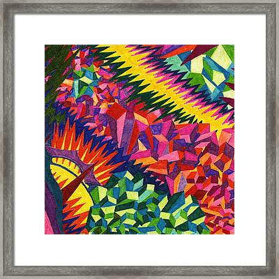 Tile 38 - The Montevideo Wavelength Episode Framed Print by Sean Corcoran