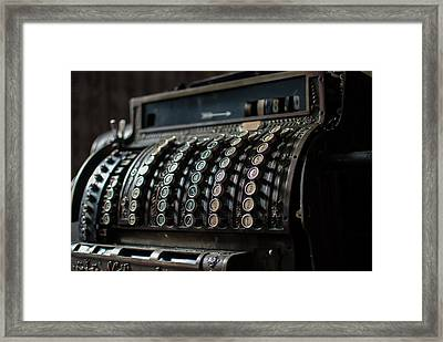 Till Framed Print by Nathan Wright