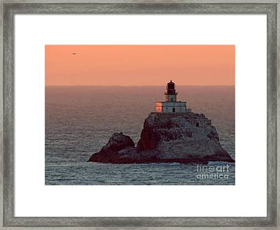 Tillamook Rock Lighthouse Framed Print by Chris Anderson