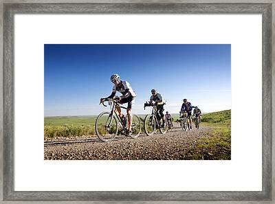 Tim Ek And Salsa Dk200 Framed Print by Eric Benjamin