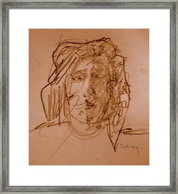 Tim Framed Print by Steven Holder