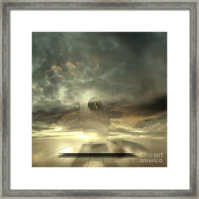 Time After Time Framed Print by Franziskus Pfleghart