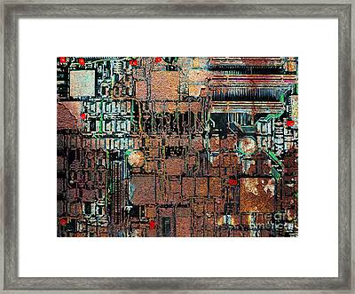 Time For A Motherboard Upgrade 20130716 Framed Print by Wingsdomain Art and Photography