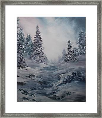 The Best Time Of Year Framed Print by Jean Walker