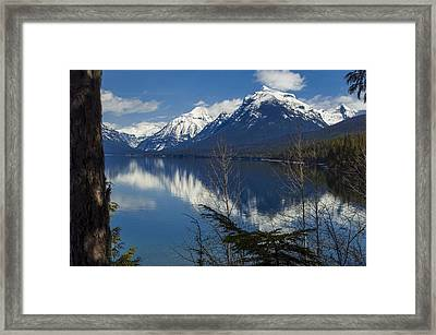 Time For Reflection Framed Print by Fran Riley