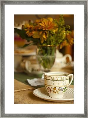Time For Tea Framed Print by Andrew Soundarajan