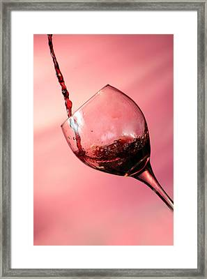 Time For Wine  Framed Print by Michael Ledray