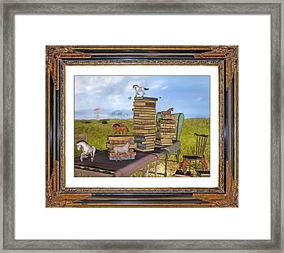 Time Frame Framed Print by Betsy C Knapp