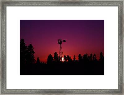 Time Gone By  Framed Print by Jeff Swan