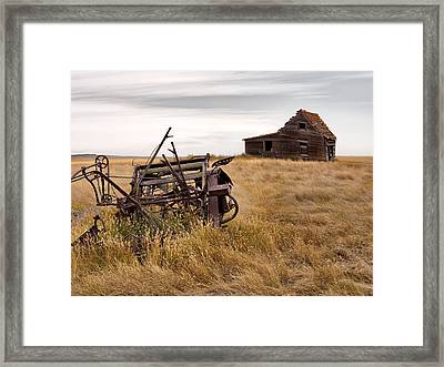 Time Gone By Framed Print by Leland D Howard