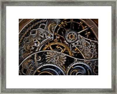Time Machine Framed Print by Eduard Moldoveanu