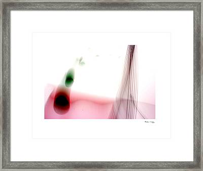 Time On A String 8 Framed Print by Xoanxo Cespon