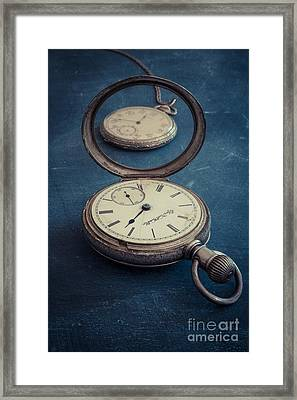 Time Pieces Framed Print by Edward Fielding