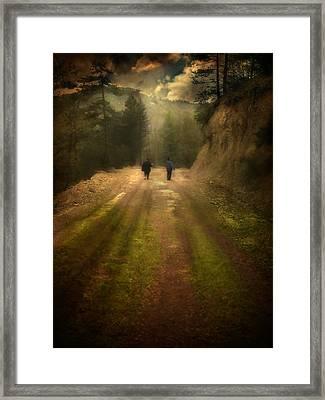 Time Stand Still Framed Print by Taylan Soyturk