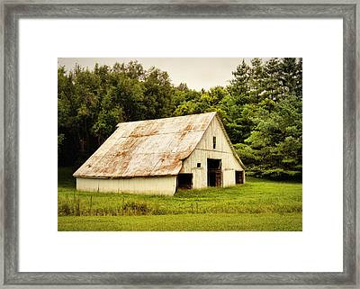 Time Stands Still Framed Print by Cricket Hackmann