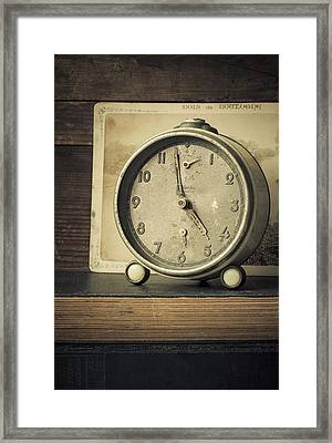 Time Stood Still Framed Print by Amy Weiss