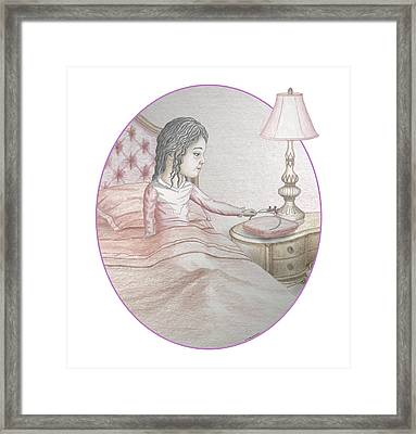 Time To Dream Framed Print by James Willoughby III