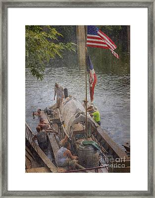 Time To Relax Framed Print by Pete Hellmann