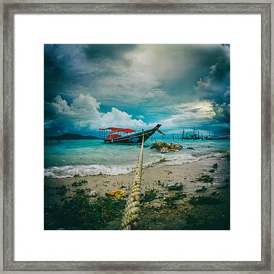 Time To Rest Framed Print by Stelios Kleanthous