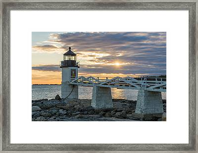 Time To Work Framed Print by Kristopher Schoenleber