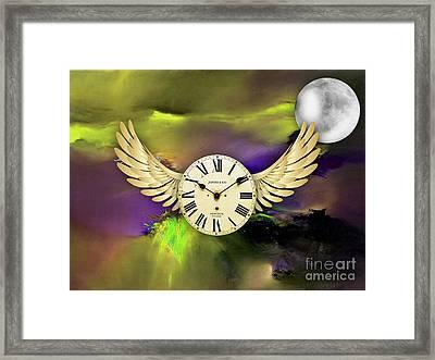 Time Travel Framed Print by Marvin Blaine