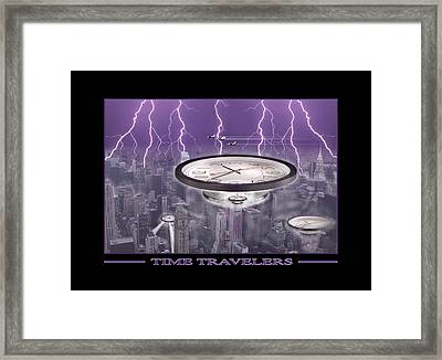 Time Travelers Framed Print by Mike McGlothlen