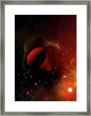 Time Warp Framed Print by Victor Habbick Visions